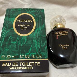 Christian Dior - CHRISTIAN DIOR  プワゾン 50ml