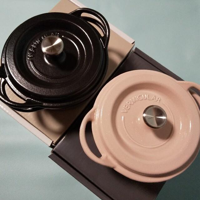 バーミキュラ♥️オーブンポットラウンド♥️14㎝ インテリア/住まい/日用品のキッチン/食器(鍋/フライパン)の商品写真