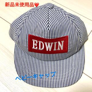 EDWIN - 新品未使用❤️キャップ❤️帽子❤️ベビー キッズ