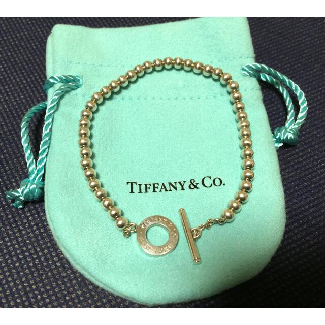 Tiffany & Co.(ティファニー)のティファニー  ボールチェーンブレスレット レディースのアクセサリー(ブレスレット/バングル)の商品写真
