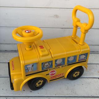 スヌーピー タウン バス 乗用玩具 乗用車(三輪車/乗り物)