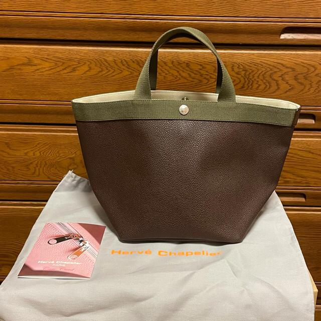 Herve Chapelier(エルベシャプリエ)の新品同様 エルベシャプリエ 舟型M レディースのバッグ(トートバッグ)の商品写真