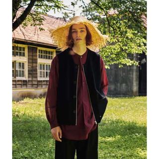 matsufuji Modified Farmers Knit Vest