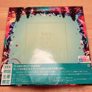 トリプルエー(AAA)のAAA WAY OF GLORY 初回盤(ポップス/ロック(邦楽))