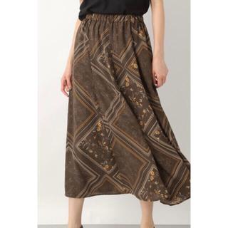 レプシィム(LEPSIM)のLEPSIM レプシィム スカーフガラスカート ロングスカート(ロングスカート)