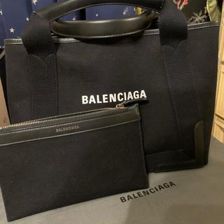 Balenciaga - バレンシアガトートバック、新ロゴ、ブラック、S.美品!