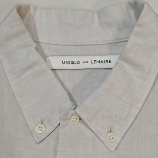 UNIQLO - 【美品】UNIQLO AND LEMAIRE リネンコットンシャツ