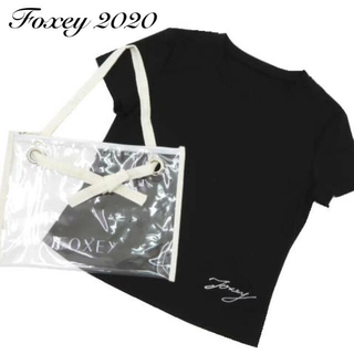 """FOXEY - 新品タグ付【FOXEY】2020年T-Shirt """"Contrail.C"""""""