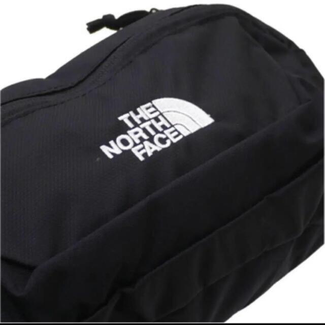 THE NORTH FACE(ザノースフェイス)の【未開封新品】ノースフェイス ボディーバック 3L 黒色 男女兼用 刺繍ロゴ レディースのバッグ(ボディバッグ/ウエストポーチ)の商品写真