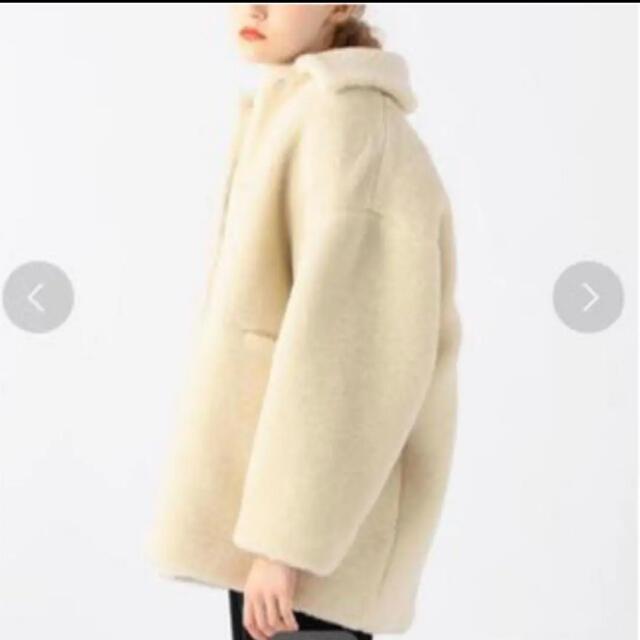 TOMORROWLAND(トゥモローランド)のトゥモローランド ボアコート レディースのジャケット/アウター(毛皮/ファーコート)の商品写真