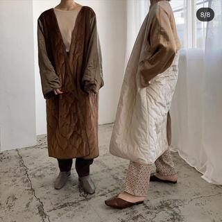 TODAYFUL - amiur vintage satin gown coat