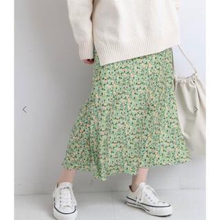 IENA - 【新品タグ付き】イエナ IENA ウィステリア フラワースリットスカート