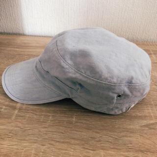 マーガレットハウエル(MARGARET HOWELL)のマーガレットハウエル キャップ 帽子 水色 MHL(キャップ)