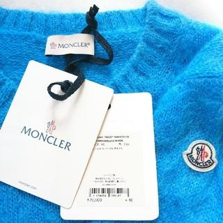 MONCLER - 新品、未使用 MONCLER モヘア ニット プルオーバ