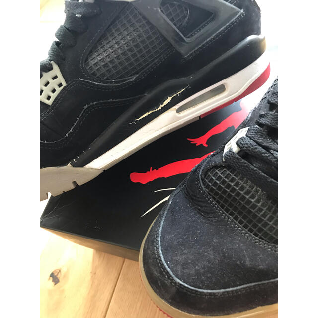 NIKE(ナイキ)の値下げします‼️ NIKE AIR JORDAN4 RETRO メンズの靴/シューズ(スニーカー)の商品写真