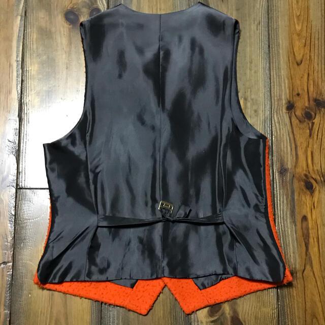 FINAMORE(フィナモレ)のBevilacqua Orange Casentino Odd Vest メンズのトップス(ベスト)の商品写真