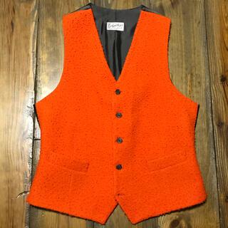 フィナモレ(FINAMORE)のBevilacqua Orange Casentino Odd Vest(ベスト)