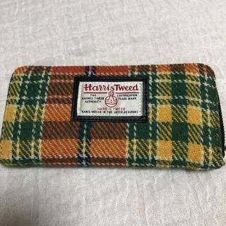 Harris Tweed - ハリスツイード カラフルな柄の長財布