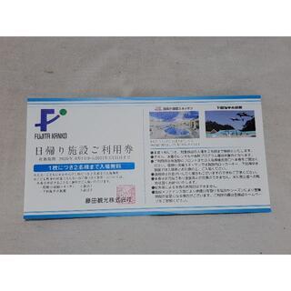 ②★箱根小涌園ユネッサンまたは下田海中水族館利用券★(プール)