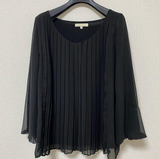 プロポーションボディドレッシング(PROPORTION BODY DRESSING)のプロポーション ブラウス ブラック(シャツ/ブラウス(長袖/七分))