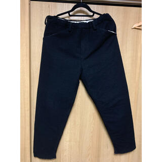 サンシー(SUNSEA)のSUNSEA  W-FACE WOOL PANTS(スラックス)
