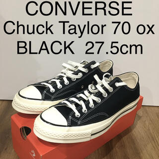CONVERSE - 【新品】Converse CT70 チャックテイラー ブラック 27.5cm