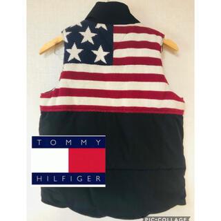 トミー(TOMMY)のトミー tommy ダウンベスト アメリカン  リバーシブル(ダウンベスト)