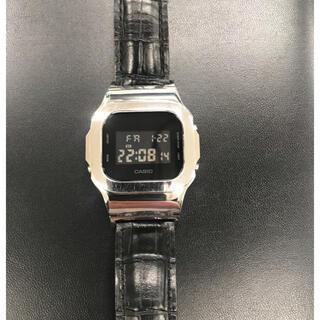 G-SHOCK - DAMUE Custom G-SHOCK 5600 シルバー メタル