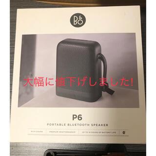 B&O Beoplay Bluetoothスピーカー P6 ブラック