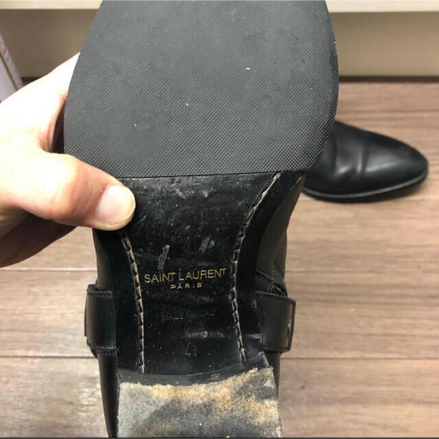 Saint Laurent(サンローラン)のSaint Laurent Ring boots 27cm メンズの靴/シューズ(ブーツ)の商品写真