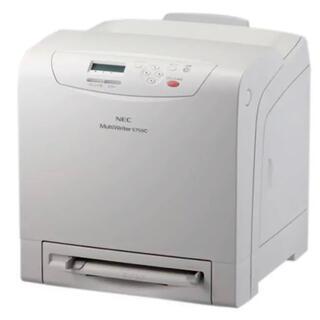 エヌイーシー(NEC)の【最終処分価格!】 NEC PR-L5750C プリンター 白ホワイト(PC周辺機器)