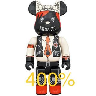 メディコムトイ(MEDICOM TOY)のBE@RBRICK ANNA SUI RED & BEIGE 400%(その他)
