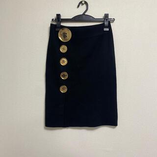 モスキーノ(MOSCHINO)のモスキーノ ニットスカート(ひざ丈スカート)