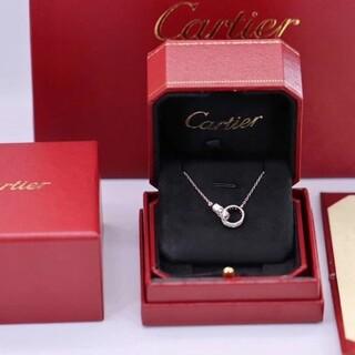 Cartier - Cartier カルティエ LOVE ネックレス ダイヤモンド
