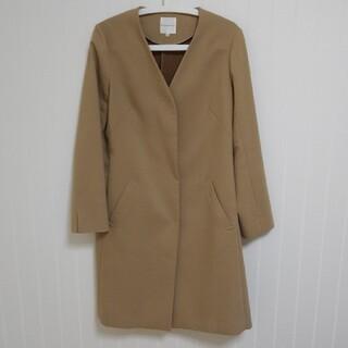 クミキョク(kumikyoku(組曲))のKUMIKYOKU キャメル色コート 春物 Lサイズ(ロングコート)