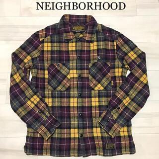 ネイバーフッド(NEIGHBORHOOD)のNEIGHBORHOOD ネイバーフッド ウールシャツ チェック(シャツ)