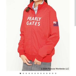PEARLY GATES - パーリーゲイツ 星条旗柄タスレックスブルゾン