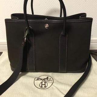 Hermes - HERMES ガーデンパーティー TPM ブラウン 極美品