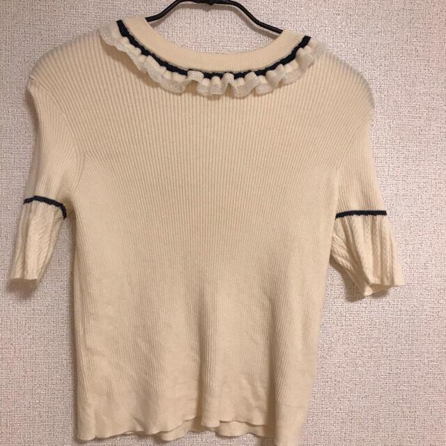 Lily Brown(リリーブラウン)のリリーブラウン サマーニット レディースのトップス(カットソー(半袖/袖なし))の商品写真