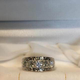 ジュエリーマキ(ジュエリーマキ)の美品 ジュエリーマキ 1カラット超 ダイヤモンドリング プラチナ (リング(指輪))