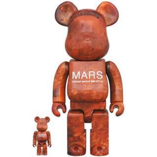 メディコムトイ(MEDICOM TOY)の新品 MARS BE@RBRICK 100%&400% ベアブリック マーズ(その他)