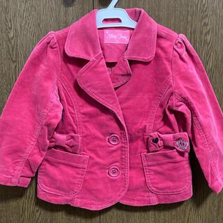 シャーリーテンプル(Shirley Temple)のピンク リボン ジャケット シャーリーテンプル(ジャケット/上着)