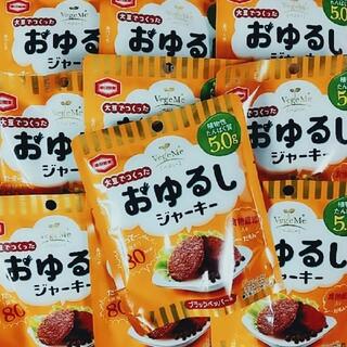 カメダセイカ(亀田製菓)の亀田製菓 おゆるしジャーキー ブラックペッパー味×10袋(菓子/デザート)
