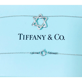 Tiffany & Co. - 美品 ティファニー  スター オブ ダビデ  ネックレス