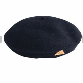 IL BISONTE - 最終セール 新品 イルビゾンテ  ベレー帽 ネイビー