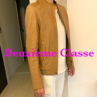 DEUXIEME CLASSE - Deuxieme Classe ドゥーズィエムクラス シープレザー ブルゾン
