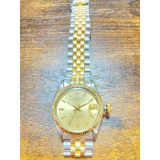 ROLEX - ロレックス デイトジャスト ボーイズ 腕時計