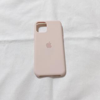 アップル(Apple)のApple純正 iPhone11Pro シリコーンケース ピンクサンド(iPhoneケース)
