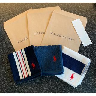 Ralph Lauren - 【新品】ラルフローレン タオル 3枚