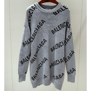 Balenciaga - バレンシアガ BALENCIAGA セーターロゴニット 美品